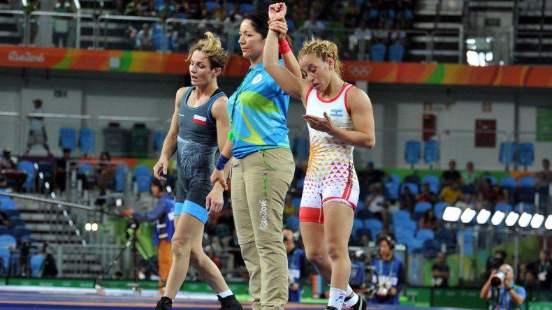 Patricia Bermúdez ganó el repechaje.