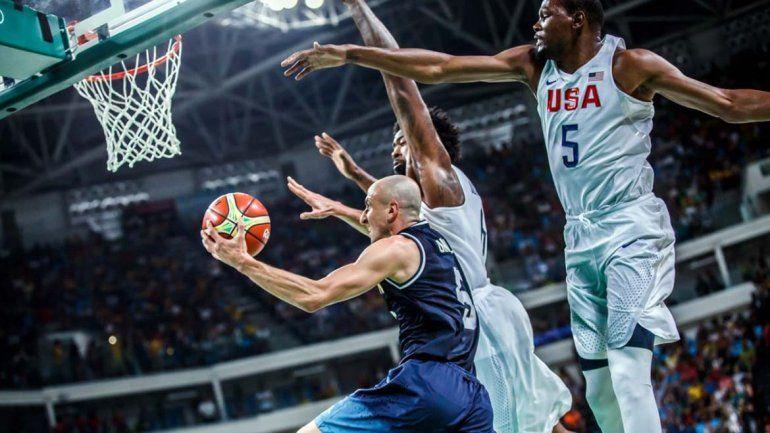 Argentina no pudo con la jerarquía del Dream Team en el final de la era dorada del básquet
