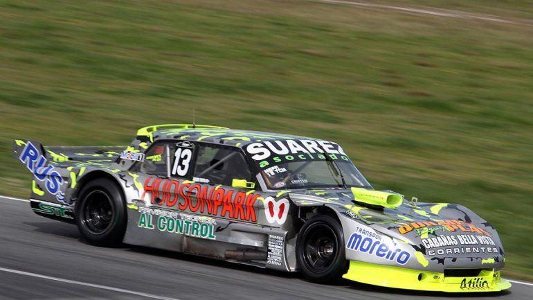 Daniel Nefa logró el quinto puesto en la serie más rápida.