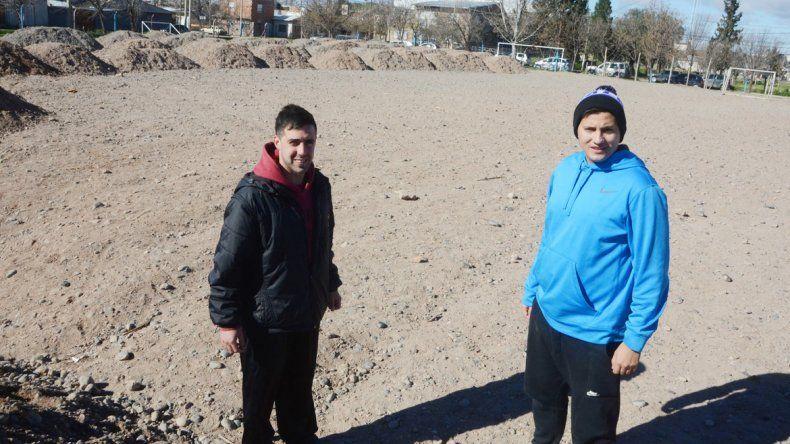 Ariel Koon y Luciano Telmo