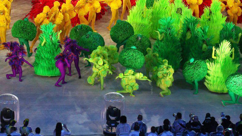 Clausura de los Juegos Olímpicos de Río 2016.