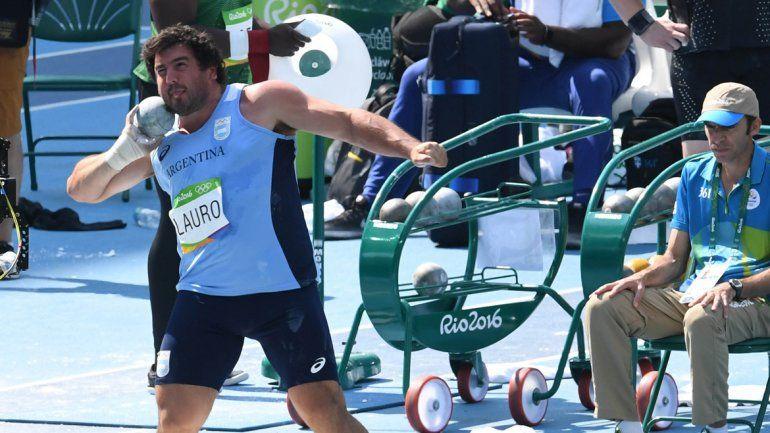 Germán Lauro no pudo repetir su buena actuación de Londres 2012. Se cierra un ciclo