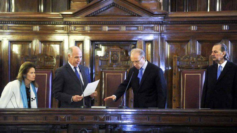 Juró Rosenkrantz y la Corte completó los cinco miembros