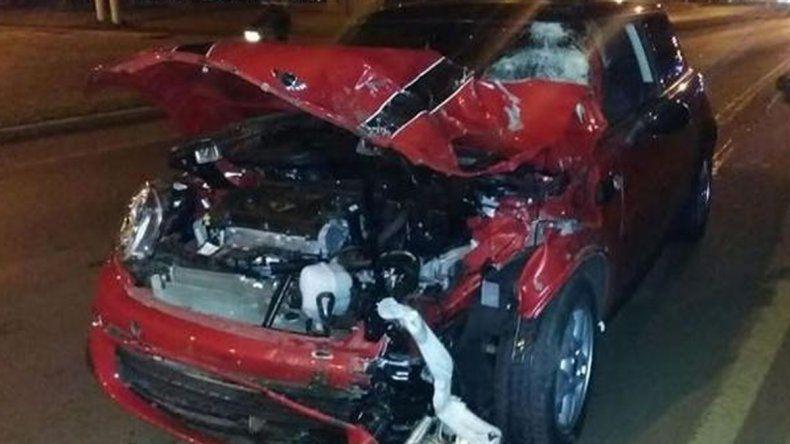 Chocó y mató con el auto que le regalaron para los 15