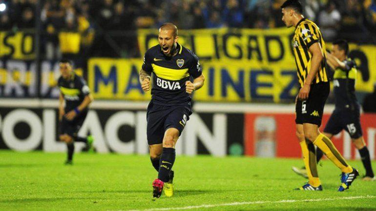 Benedetto convirtió su primer gol en Boca. Pavón le dio la ventaja definitiva al Xeneize