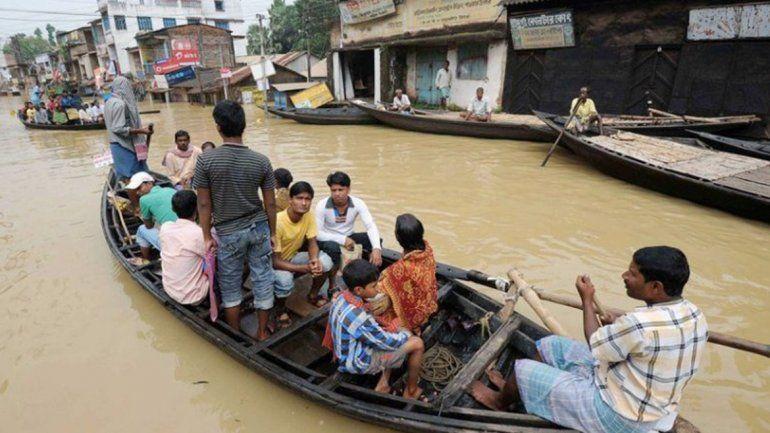 Inundaciones en la India dejaron más de 40 muertos