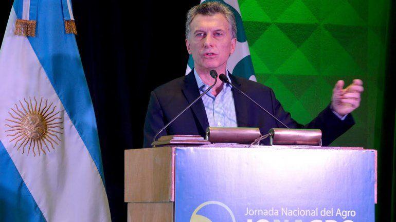 Macri: Preocupa que sólo el 40% tiene empleo