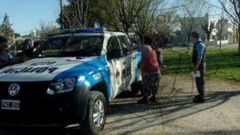 La Brigada de la Comisaría 16 hizo el allanamiento en San Lorenzo.