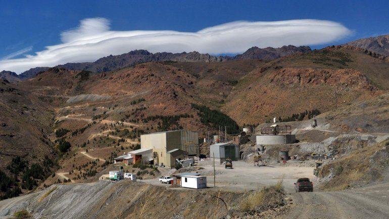La mina da sustento al 20 por ciento de las familias de la zona.