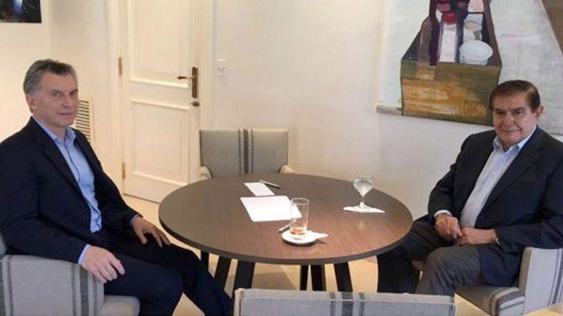 El líder sindical tuvo su mano a mano con Macri en Buenos Aires.