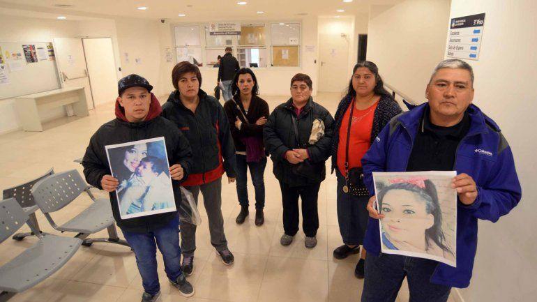 Los familiares y amigos de Karen cuando pedían cárcel para el Borrachito Lira.