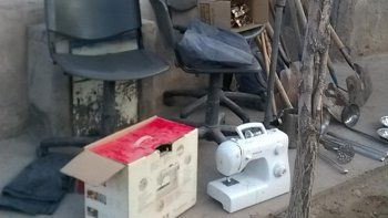 Además de armas calibre 22 y 38, se encontraron elementos robados.