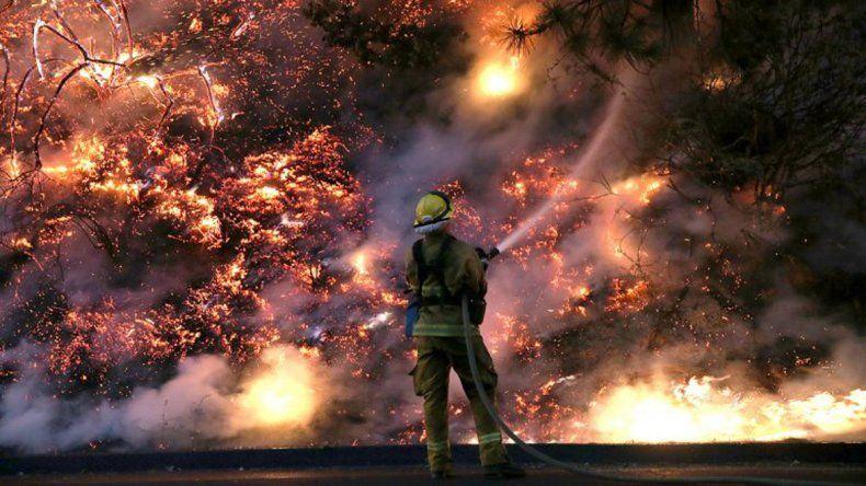 Incendios forestales en San Luis ya consumieron miles de hectáreas y debieron desalojar dos pueblos