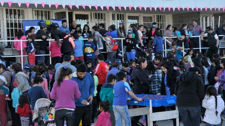 El gobierno acompañó las actividades por el día del niño