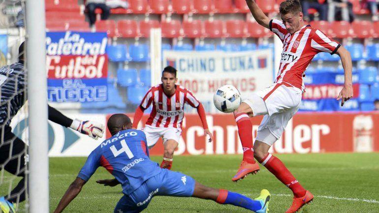Estudiantes no tuvo problemas en superar a Tigre.