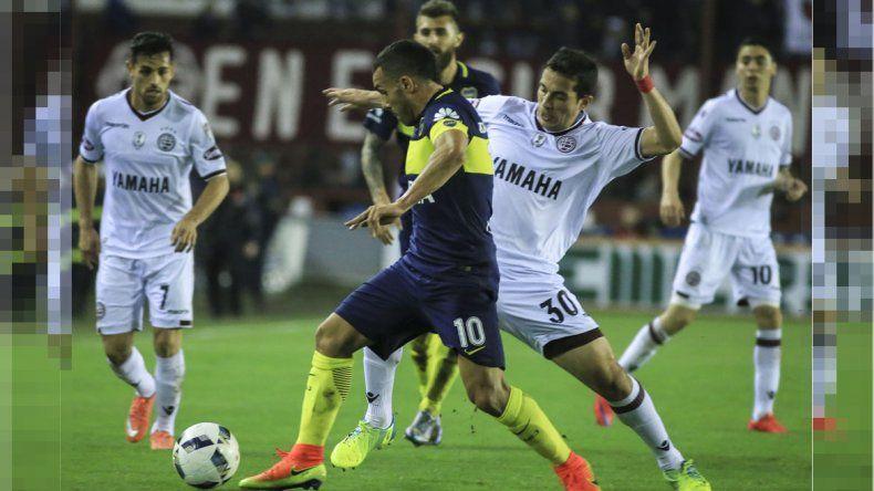 Boca cayó ante Lanús por 1 a 0.