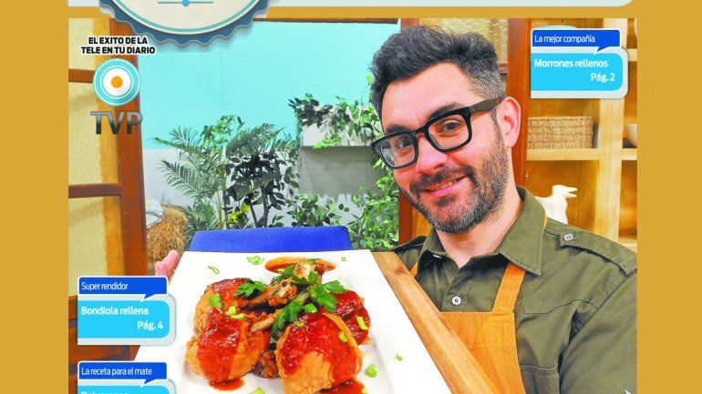 Con Cocineros Argentinos, el creador de sabores sos vos