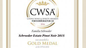 La Bodega  Familia Schroeder logró dos Oros y una Plata en el CWSA