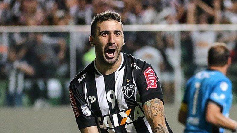 Lucas Pratto convirtió 33 goles en 77 partidos en A. Mineiro.
