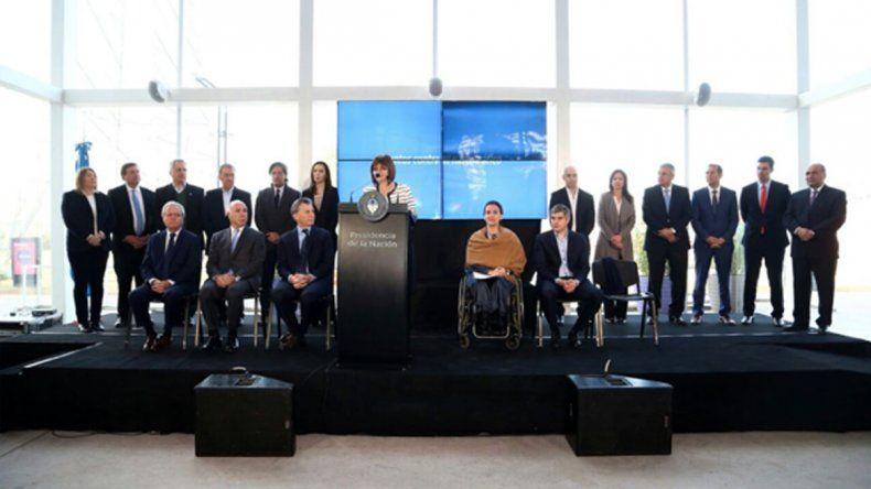 Gutiérrez se sumó al convenio de Nación por la lucha contra el narcotráfico
