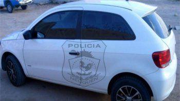 El Gol Trend denunciado fue secuestrado por la Policía.