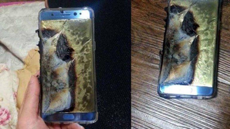 Suspenden las ventas del Galaxy Note 7 por explosión de baterías