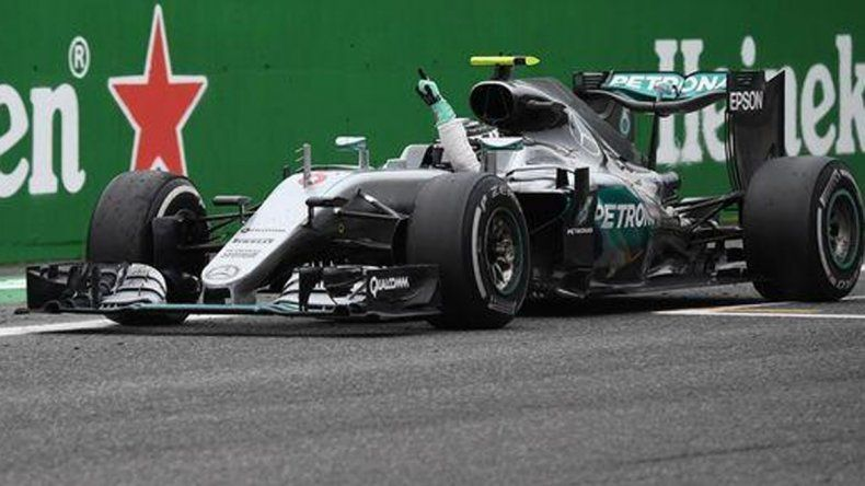 Rosberg logró el Gran Premio de Italia y acecha en el campeonato