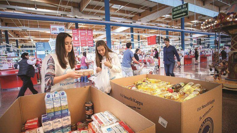 En los súper hay productos defectuosos y quieren donarlos a comedores.