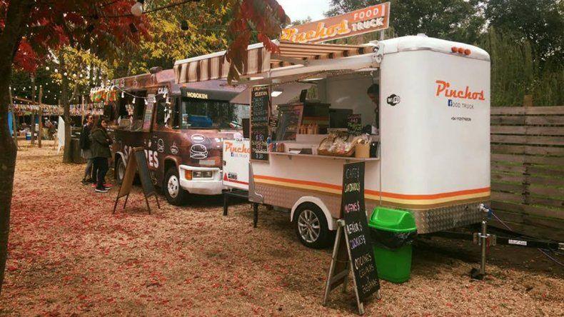 El festival de food trucks tuvo que agrandarse y los regionales tienen su espacio