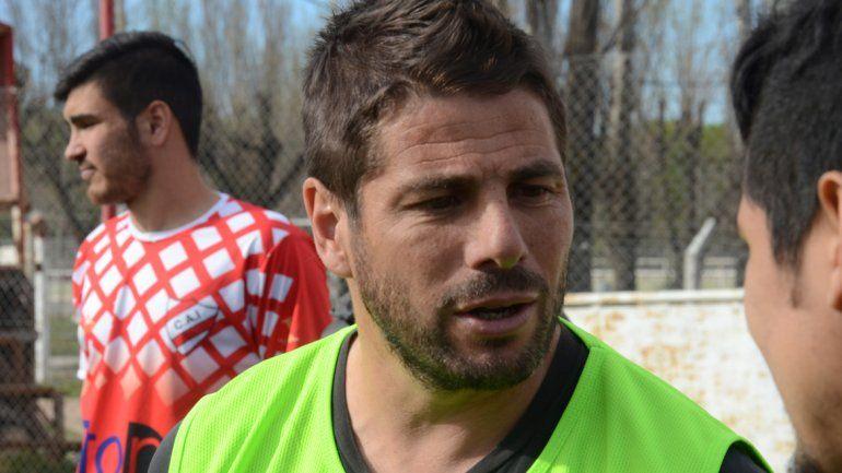 Solana debutará este fin de semana como entrenador del Rojo neuquino.