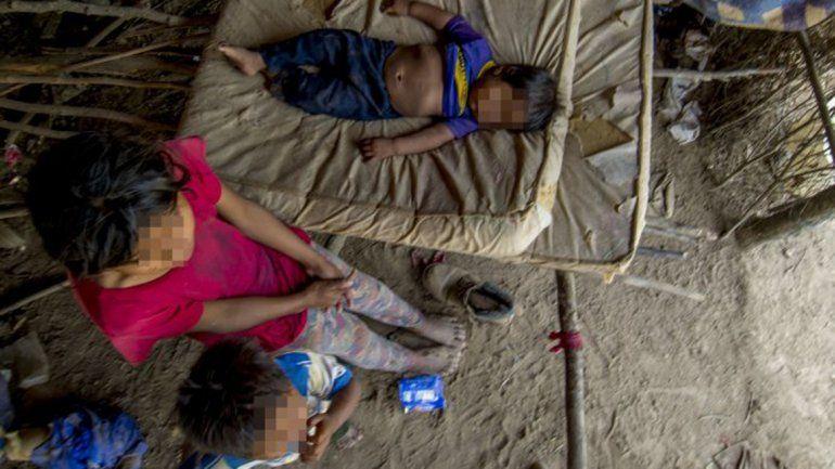 Dos niños de la comunidad wichi murieron por desnutrición