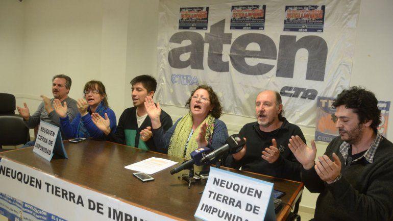 La dirigencia de ATEN repudió la resolución que hizo caer la causa. Neuquén