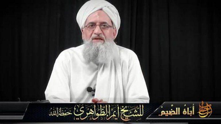 El video de Ayman al Zawahiri se difundió ayer y generó alarma.