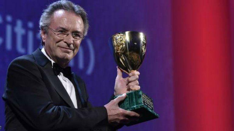 El actor Oscar Martínez galardonado en el Festival de Venecia