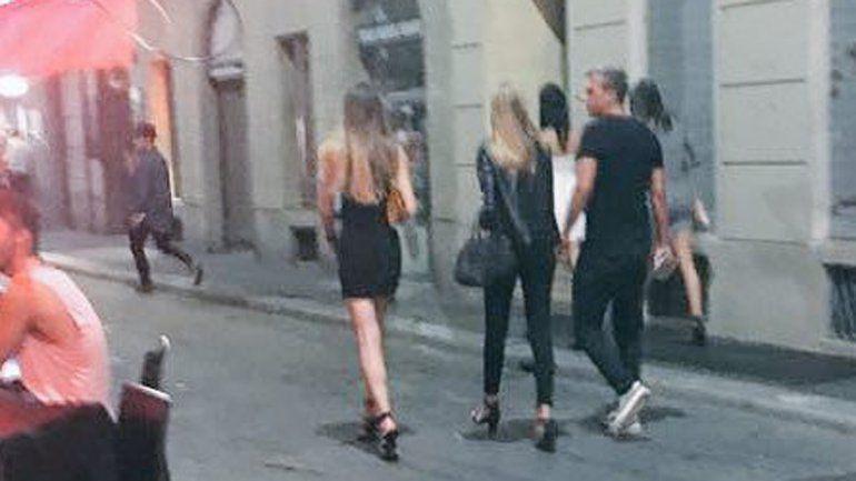 La foto publicada por @anti_boti: Maxi camina