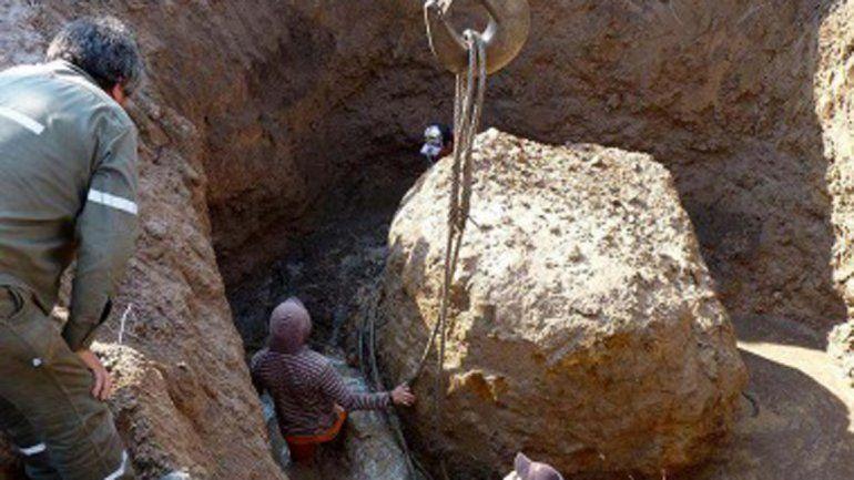 Hallan un meteorito de 30 toneladas, el segundo más grande del mundo