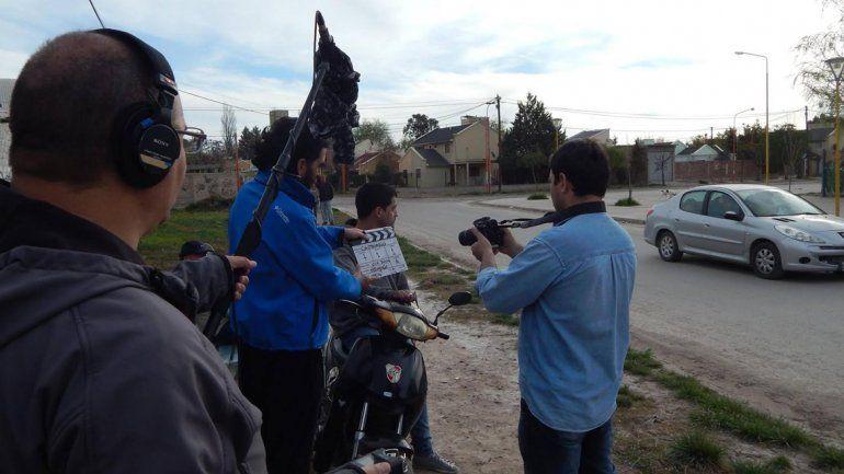 La Otra Cara de la Moneda: vecinos de Centenario se animaron a filmar su propio corto