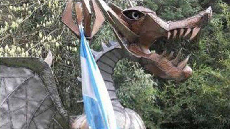 Un dragón patriota