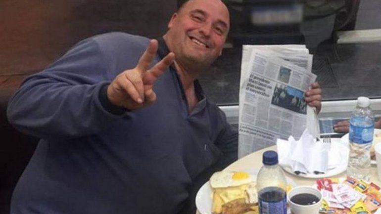 Marcelo Vidal era el custodio del drugstore al que ingresaron los dos ladrones.