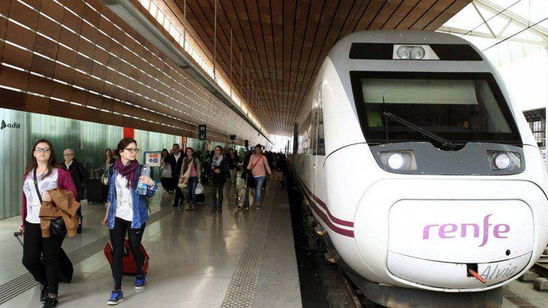El tren iba de Santander a Madrid