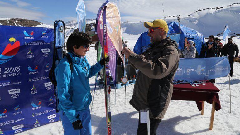 Verónica Galván, la neuquina que brilla en los Juegos de Invierno