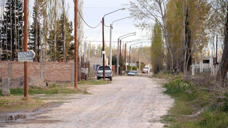 La calle Pilcomayo al 1400 por donde caminaba la nena hacia a su casa cuando fue interceptada por el hombre.