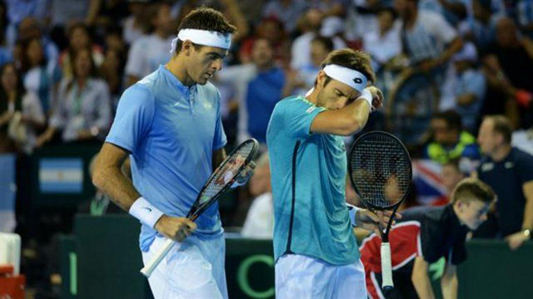 Del Potro y Mayer no pudieron ante los Murray