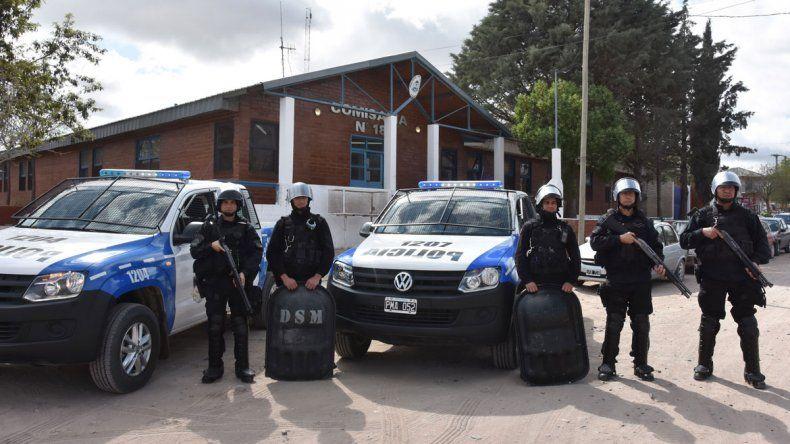 El grupo de acción rápida de la Metropolitana estará apostado en la Comisaría 18ª y cada vez que haya incidentes armados serán los encargados de intervenir en el territorio.