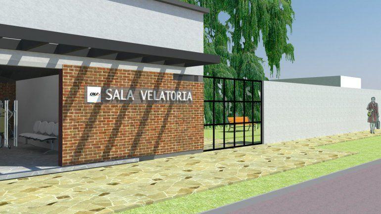 CALF tiene un proyecto para construir otra sala velatoria en el pueblo.