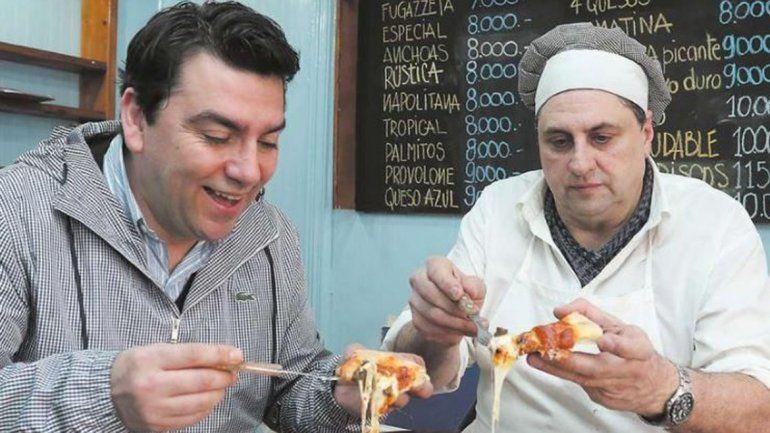 Gerardo Feest (chileno) y Sergio García Gerala (argentino) abrieron la pizzería La Angostura en Osorno