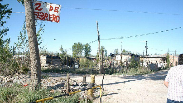 El feroz enfrentamiento a tiros fue en una de las casas de la toma 2 de Febrero.