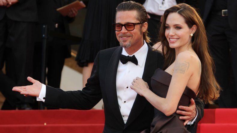 ¡Bomba! Angelina Jolie le pidió el divorcio a Brad Pitt