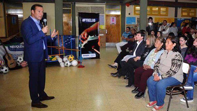 Gutiérrez inauguró obras de ampliación en el CPEM 30