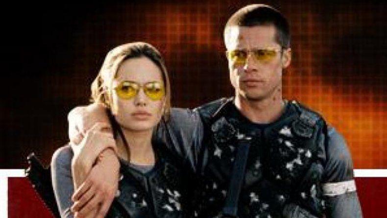 Pitt y Jolie se conocieron en el rodaje de Sr. y Sra. Smith (2004) y poco después empezaron con su romance.